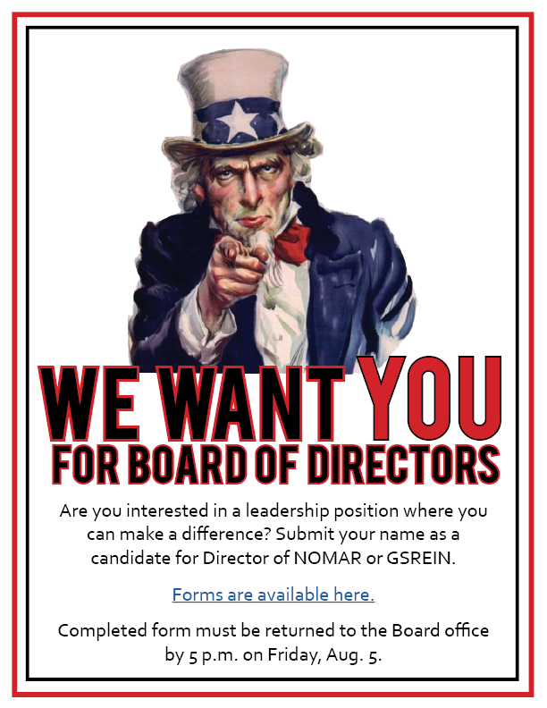 Board of Directors flier