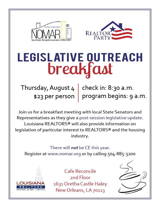 Legislative Outreach Flier 8.4.16