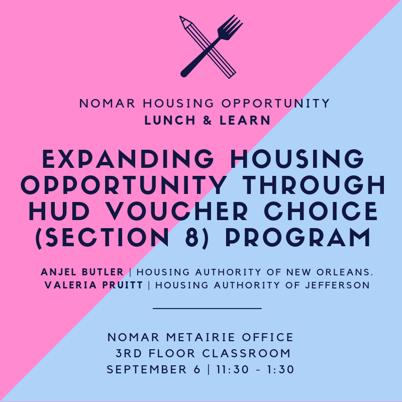 Housing opp Lunch Learn Sept 6