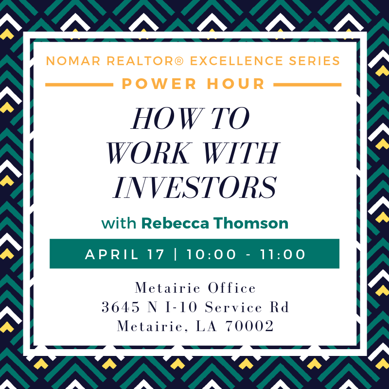 HowToWorkWithInvestors PowerHour 4.17.19