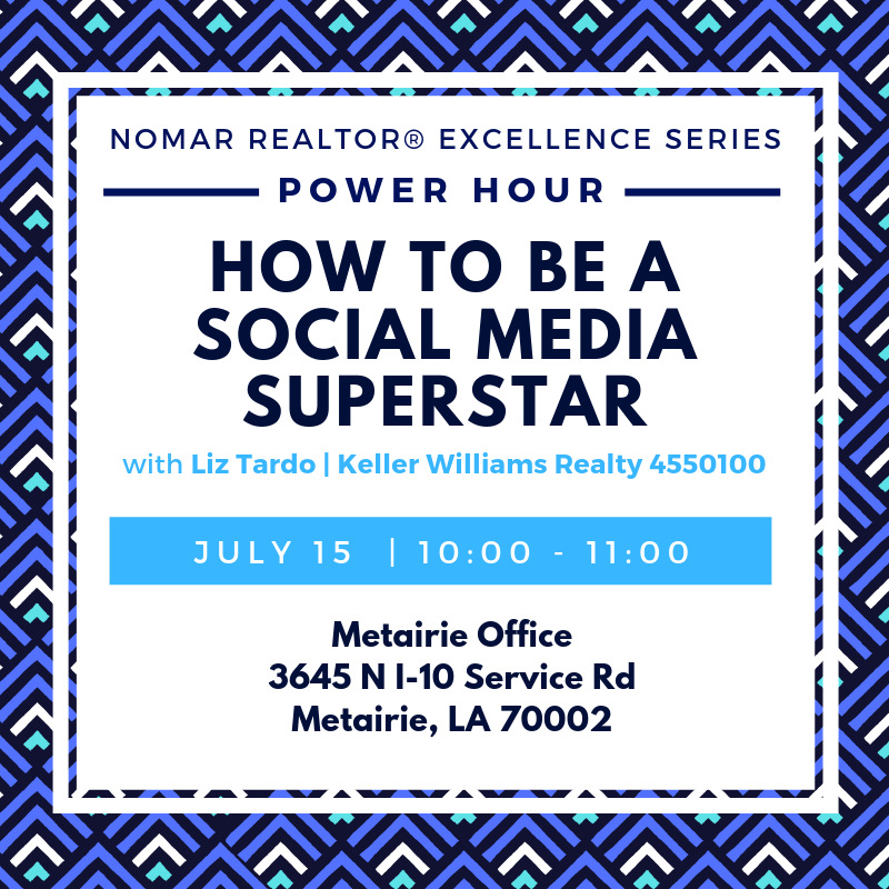 July 15 Metairie Power Hour