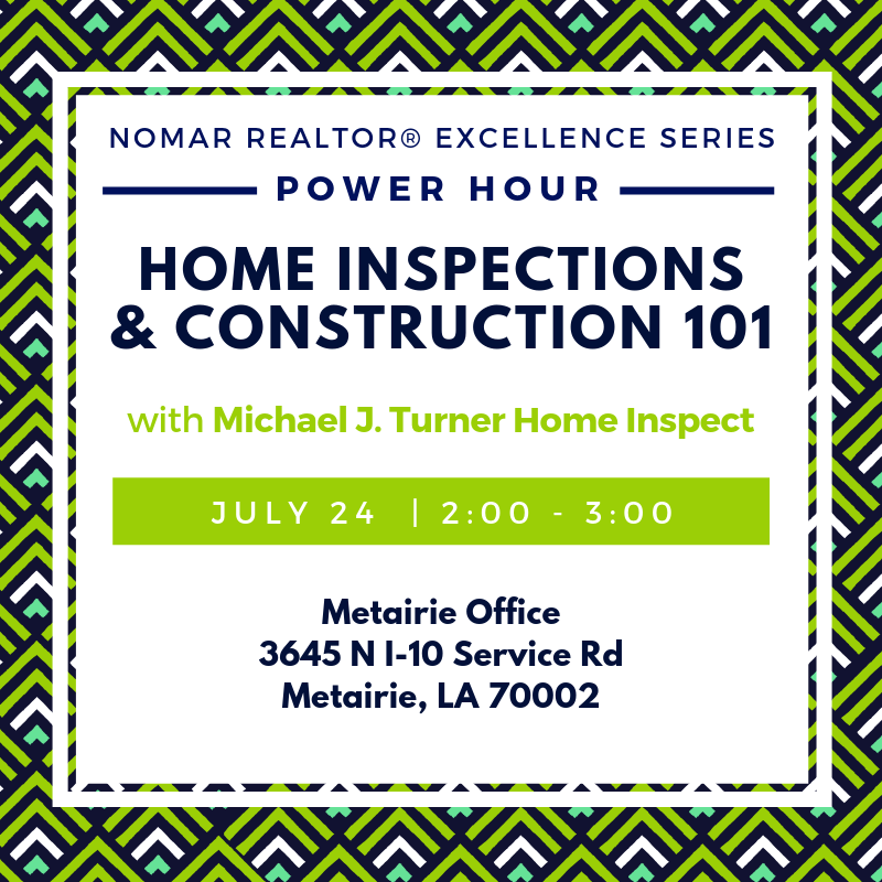 July 24 Metairie Power Hour