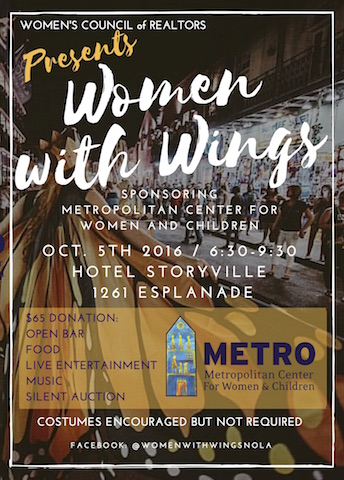 WCR Women With Wings flier