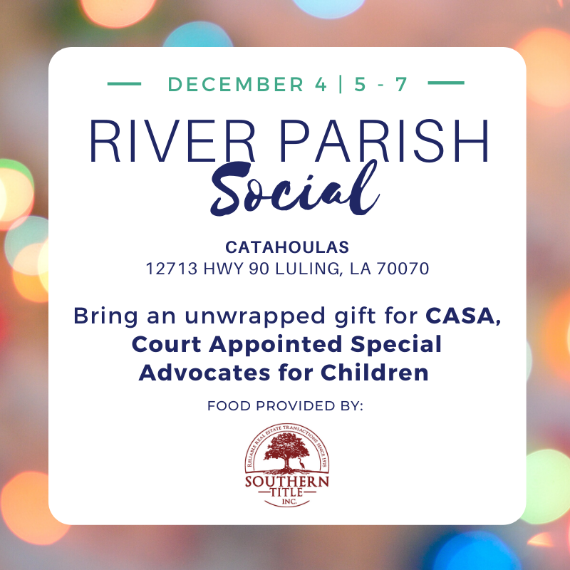 River Parish Social. December