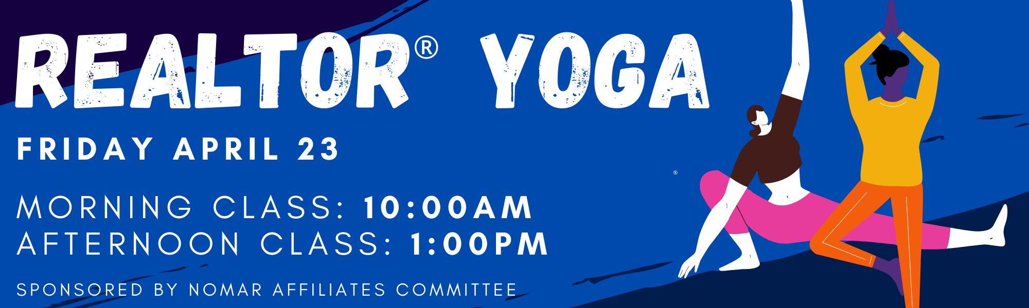 REALTOR yoga