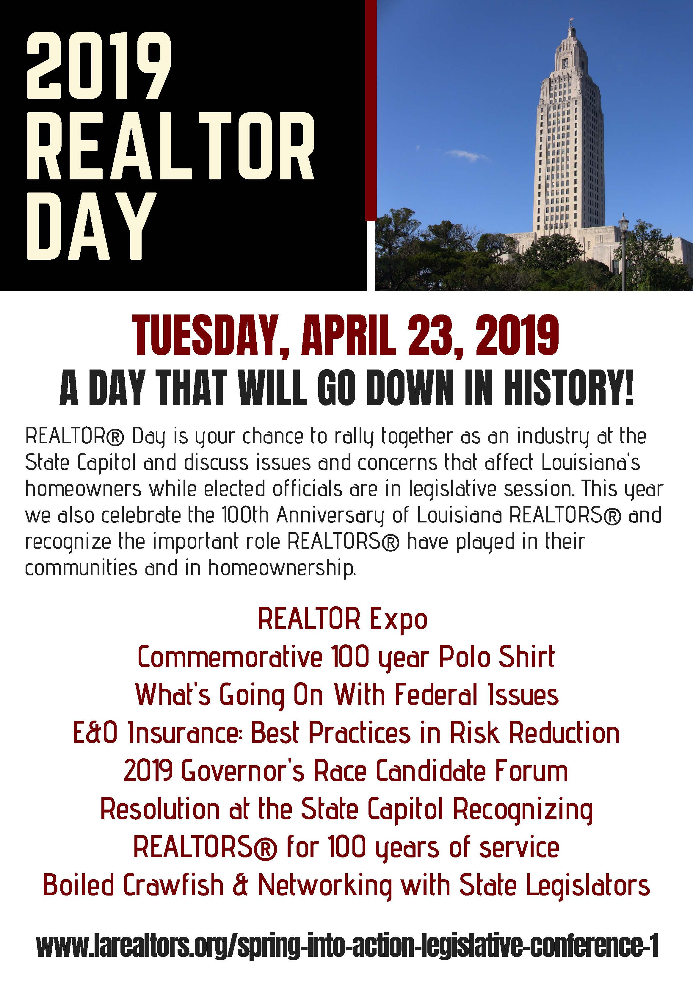 realtor day flyer